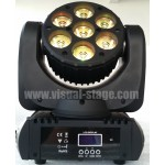 VS-7*12W Osram RGBW 4 in 1 LED moving head Beam