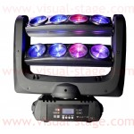 VS-8 x 10W 4 in 1 Beam Spider Moving Head Light