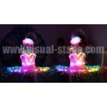 VS-C33 Full Color LED & Fiber Optic Light Ballet Costumes
