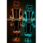 VS-C36 EL wire Jumpsuit Light Costume