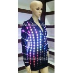 VS-C001 Sexy Stewardess LED Light Uniform Costume