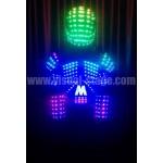 VS- Fullcolor LED Light Leather Vest & Helmet